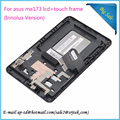 Original 7''For Asus MeMO Pad HD 7 ME173 ME173X K00B (Innolux Version) N070ICN -GB1 LCD Matrix+Touch Digitizer Assembly+Frame