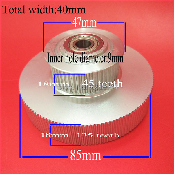 Large format plotter Mimaki tower pulley for JV33 TS3 JV5 TS5 JV34 TS34 double decked motor