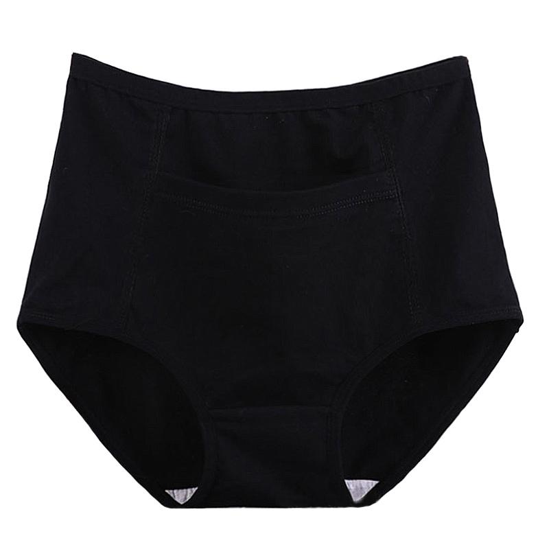 Pack de 3 culottes avec poche en coton grande taille femme.2