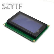 LCD12864 LCD screen with backlight 12864-5V LCD 12864 blue screen with font