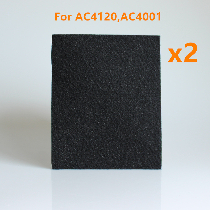 2 pieces Air Purifier Parts HEPA Filter Activated Carbon Filter replacement for philips AC4120,AC4001 30 3 24 2 3cm air purifier parts hepa dust collection filter ac4120 for philips ac4001 air purifier