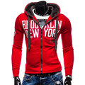 MarKyi 2017 New Spring Letters Printed Hoodies Sweater Long Sleeve Casual Sport Suit Men's Zipper Tracksuit Men