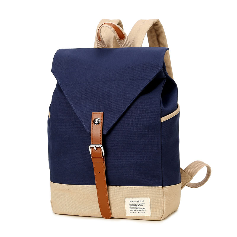 ecoparty Winner Brand Fashion Unique Design Women Book Bag Ladies Backpack Bags Canvas Schoolbag Backpacks for Teenage Girls aosbos fashion portable insulated canvas lunch bag thermal food picnic lunch bags for women kids men cooler lunch box bag tote