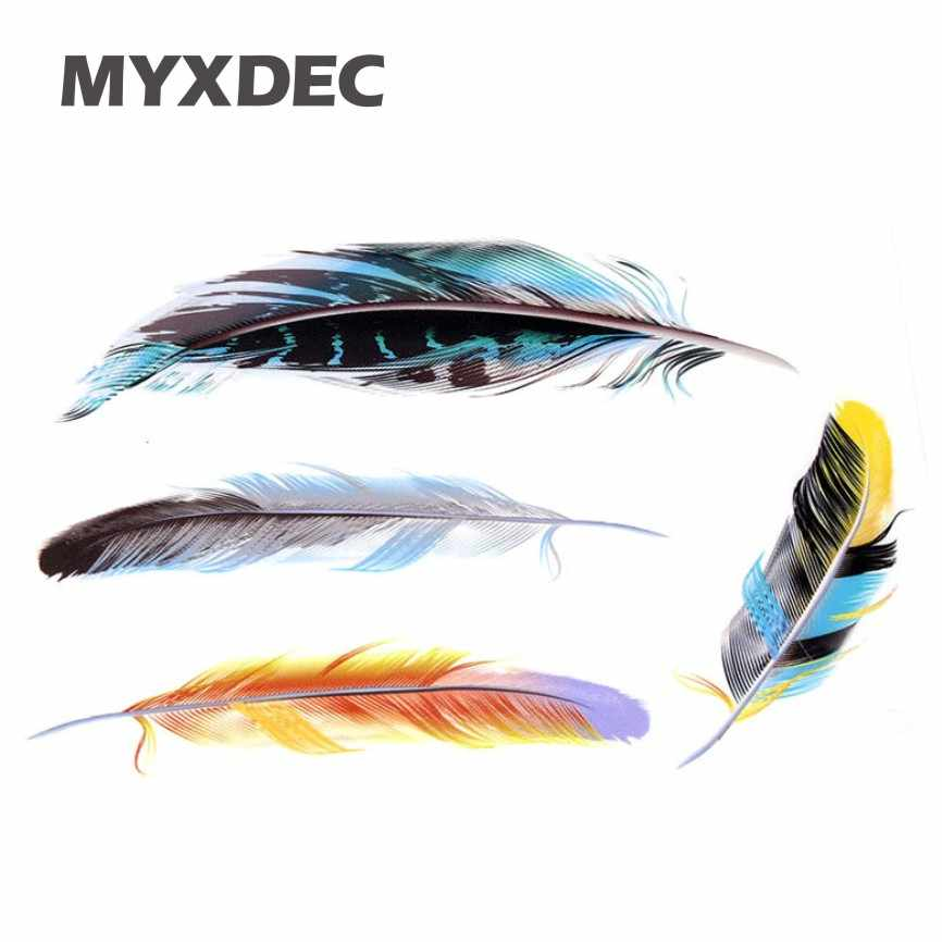 Hot Sale Time-limited Car Covers Styling Feathers Stickers Exterior Or Interior Decal Scratch Decoration Sticker The Whole Body