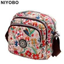 Women Messenger Bags 2018 New Vinatge Printing Women Bag Mum