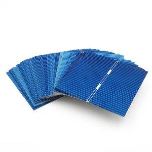 Image 2 - 0.43Watt 52X52mm Zonnepaneel DIY Zonnecellen Polykristallijne Fotovoltaïsche Module DIY Solar Battery Charger Painel Solar