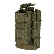 EMERSON тактическая Модульная винтовка пистолет подсумок MOLLE военный воздушный мягкий патрон Карманный чехол для переноски Охотничьи аксессуары