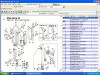 Catálogo de peças eletrônicas e manuais de serviço camiões de elevação 2008 para 123