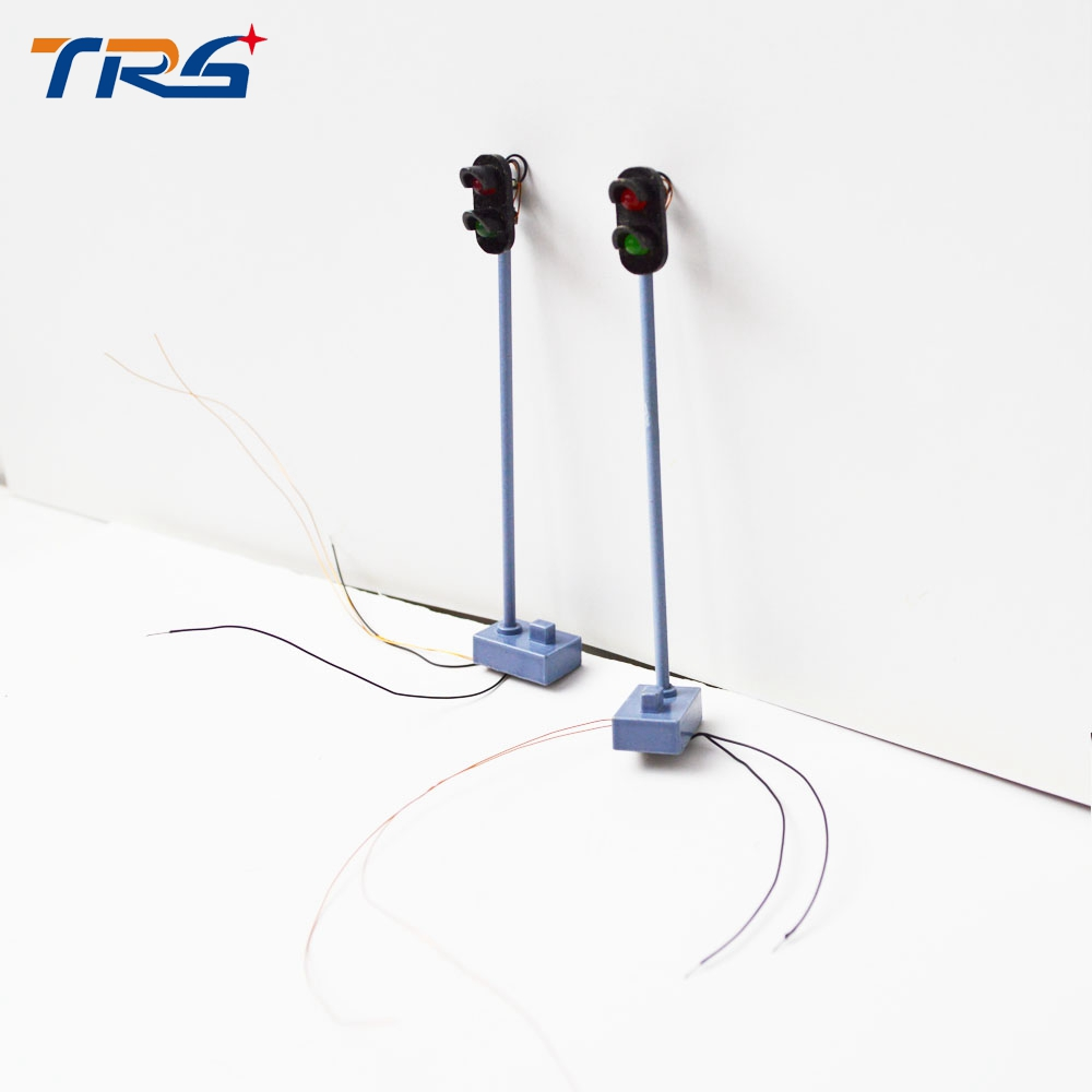 7.5cm signal traffic light road metal led silver and black color Traffic Light singal Railroad Train