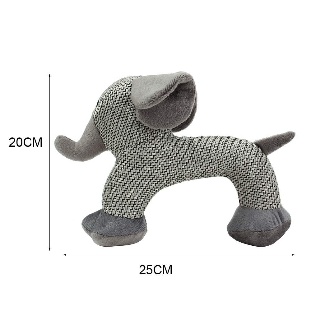 Dog Chew Toys for Small Large Dogs Bite Resistant Dog Squeaky Duck Toys Interactive Squeak Puppy Dog Toy Pets Supplies in Dog Toys from Home Garden