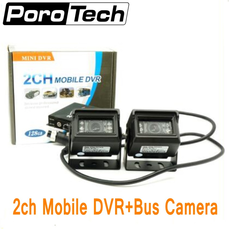 2CH Mobile DVR mini vehicle DVR with Alarm Motion Detective 24 Hours Monitor Support 128GB Remote Control with 2pcs camera+cable2CH Mobile DVR mini vehicle DVR with Alarm Motion Detective 24 Hours Monitor Support 128GB Remote Control with 2pcs camera+cable