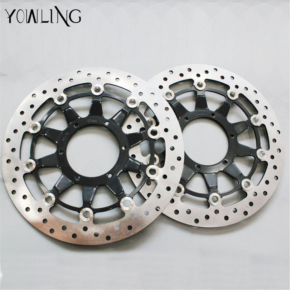 YOWLING motorcycle Parts Accessories Front Floating Brake Discs Rotor for HONDA CBR1000 CBR 1000 2008 2009 2010 2011 2012 starpad for lifan motorcycle lf150 10s kpr150 new front brake discs accessories