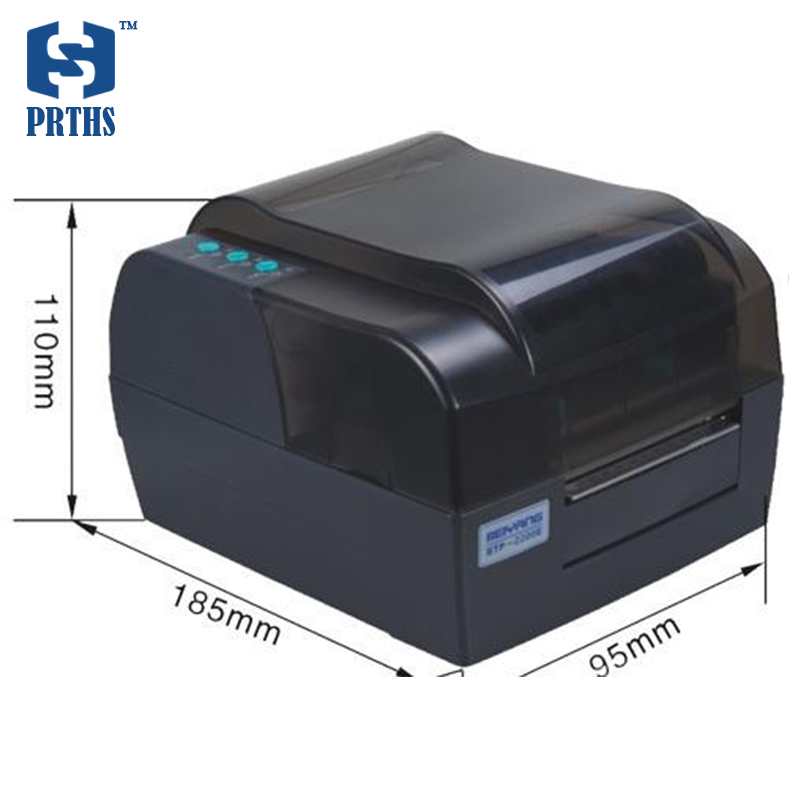 BTP-2300E 300DPI HD barcode printer with optional Ethernet port thermal/transfer label printer for business etiquetadora стоимость
