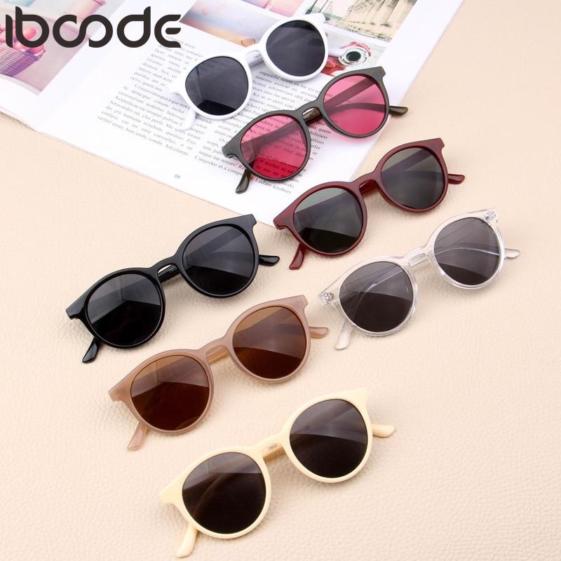Iboode New Kids Sunglasses Boys Girls Baby Infant Fashion Sun Glasses UV400 Eyewear Child Shades Gift UV400 Oculos Gafas De Sol