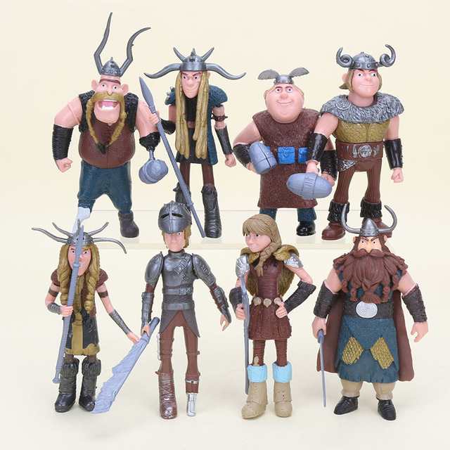 Hot sale 8pcsset movies toys for children how to train your dragon hot sale 8pcsset movies toys for children how to train your dragon hiccup astrid ccuart Choice Image