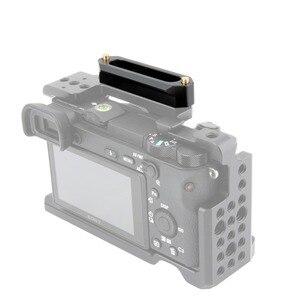 "Image 4 - NICEYRIG NATO Rail NATO Clamp Slide Rail Rig Nato Handle Rail Grip Rig DSLR Camera Cage Clamp Rig 1/4"" Stabilizer Cameras 70mm"