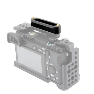 "Image 4 - NICEYRIG NATO Schiene NATO Clamp Rutsche Schiene Rig Nato Griff Schiene Grip Rig DSLR Kamera Cage Clamp Rig 1/4"" stabilisator Kameras 70mm"