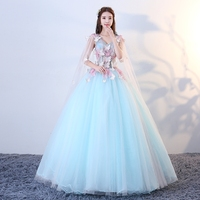 Applique Butterfly Debutante Ball Gown Sweet 16 Dress In Quinceanera Dresses Elegant Open Back Beautiful Party Girl Prom Gowns