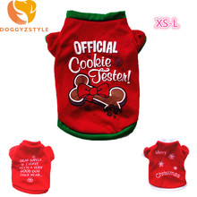 """Official Cookie Fester!"" yorkie's Christmas sweater"