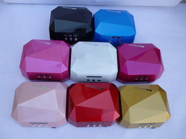 LED 18 LED UV Nail Lamp Nail Dryer Diamond Light Nail phototherapy machine 18W Top Quality Induction Lamp