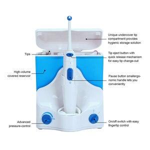 Image 4 - ครอบครัวไฟฟ้าทันตกรรมFlosser 4 เคล็ดลับความจุ 500ML Water Jet FlossฟันOralชลประทานทำความสะอาด