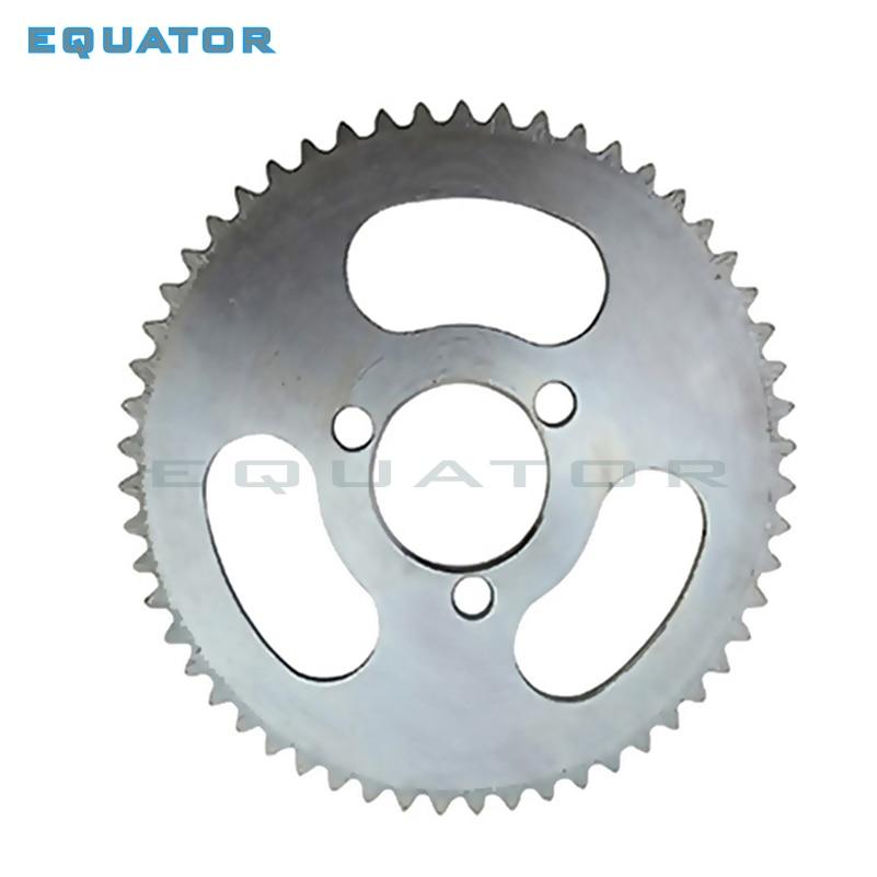 Placa de roda traseira para 20mm, 25h 55t 65t dente 29mm 2 tempos mini atv da engrenagem da roda dentada para 47cc 49cc pocket bicicleta quad 4 rodas scooter