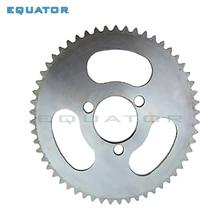 Задняя звездочка для мини-квадроцикла, 25H 55T 65T зуб 29 мм, 2 такта, для карманного велосипеда 47cc 49cc, 4-колесного скутера