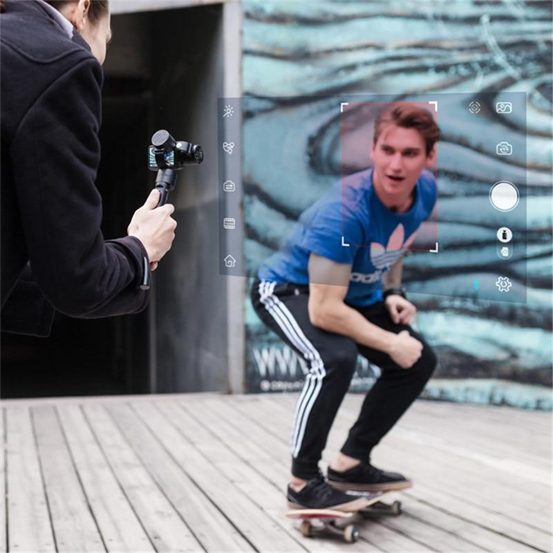 Zhiyun Z1 Evolution 3-Axis Handheld Stabilizer Gimbal for GoPro Hero 4 5 XiaoYi / Extra Monitor Camera Mounting Kit [hk stock][official international version] xiaoyi yi 3 axis handheld gimbal stabilizer yi 4k action camera kit ambarella a9se75 sony imx377 12mp 155 degree 1400mah eis ldc sport camera black