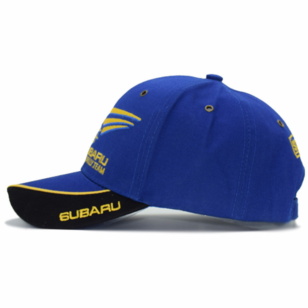 2019 F1 Moto GP Subaru Team Embroidery Baseball Cap Motorcycle ... 4393688472a