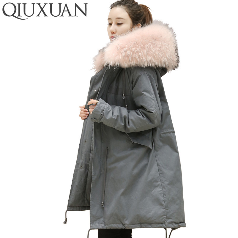 Best Price Winter Jacket White Duck Down 2016 Fashion Women Solid Color Hooded Fur Collar Zippers Ladies Long Jacket Warm Coat