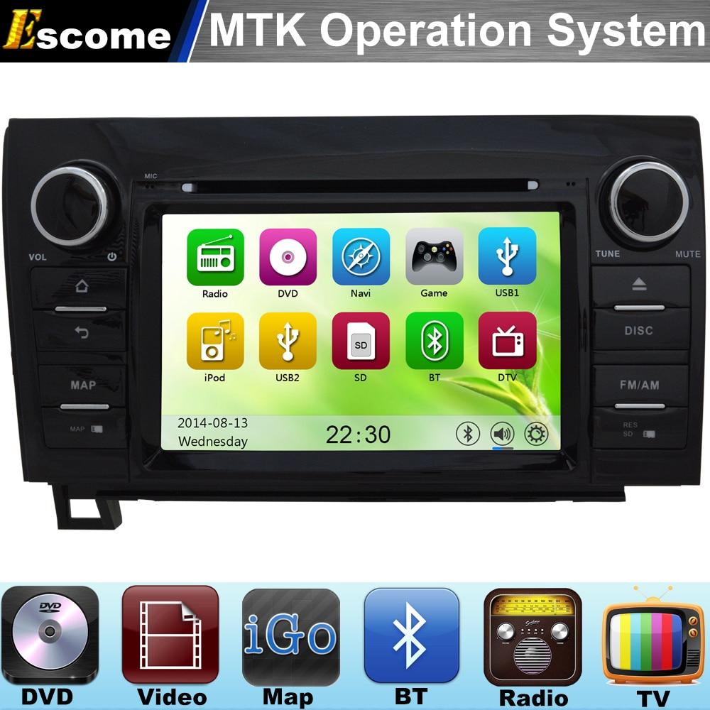 Mtk3360 car dvd automotivo for toyota tundra 2007 2013 toyota sequoia 2008 2014 with