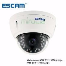 ESCAM QD420 Купола Беспроводная Ip-камера Купольная Камера IP Cam Сетевых Камер Ночного Видения смарт-Камеры ВИДЕОНАБЛЮДЕНИЯ 3.6 ММ 4MP