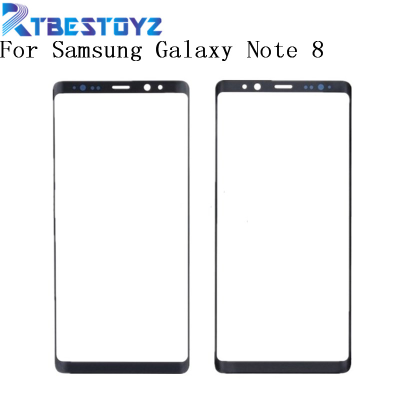 Touch Screen Outer Glass Panel For Samsung Galaxy Note8 Note 8 N950F N950 Outer Front Glass Lens Cover With Logo