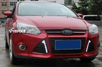 Matt surface led drl daytime running light for Ford focus 2012 13 top quality super bright
