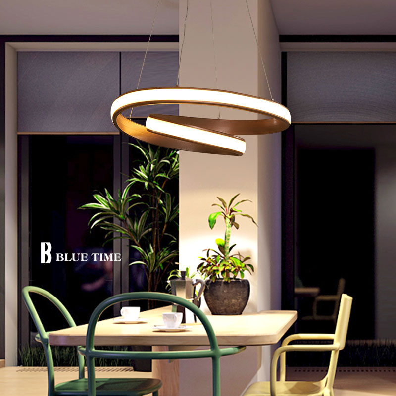 New Creative Hanglamp Modern LED Pendant Light For Dining room Living room restauant Lustre Acrylic Led Pendant Lamp AC110V 220V bried led aluminum acryl pendant light for office dining room ruler creative jane pendant light 110 220v 34 60 90 120cm 1759