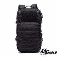 Подробная информация о AA щит тактический рюкзак Военная Униформа рюкзак открытый большой дорожная Сумка Черный