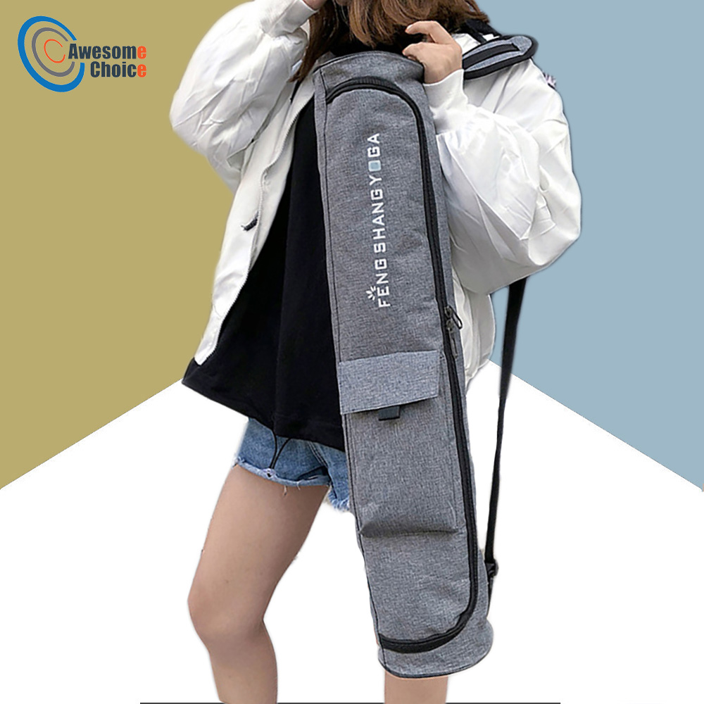 2019 Fashion Yoga Gym Bag Yoga Mat Bag Waterproof Backpack Yoga Pilates Mat Case Bag For 72*15cm Ropa, Calzado Y Complementos