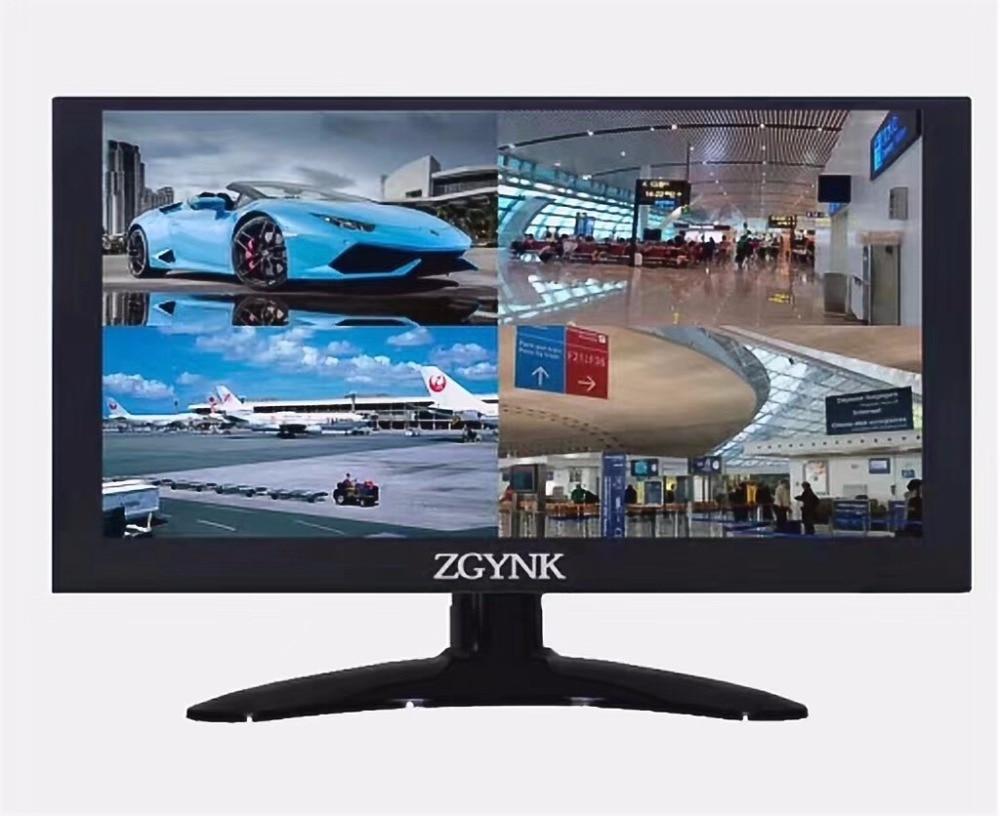 11.6 pouces moniteur écran partagé vue 4 canaux système de sécurité ordinateur pc moniteur LED afficheur de bureau