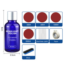 Polishing Car headlight repairer Set Refurbishment Fluid Scratches Protection Motorcycles Supplies Parts Useful цена