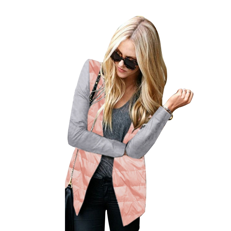 Warm Winter Jacket Women Parkas Mujer Invierno 2017 Ladies Patchwork Hooded Zipper Coat Womens Outwear Femme Parkas New S-XL F3 qazxsw new winter cotton coat hooded padded women parkas mujer invierno 2017 winter jacket women warm casacos femininos hb221