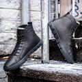 Homens Botas de inverno Chelsea Madeira Neve Sapatos Casuais Marcas de Designers Italianos de Cowboy de Couro Camurça Autumnss Tornozelos Grife Mens