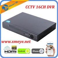 8CH видеонаблюдения DVR рекордер с P2P Cloud легко удаленного доступа 16 каналов AHD камеры DVR реального времени Автономный 1080 P HDMI выход VGA