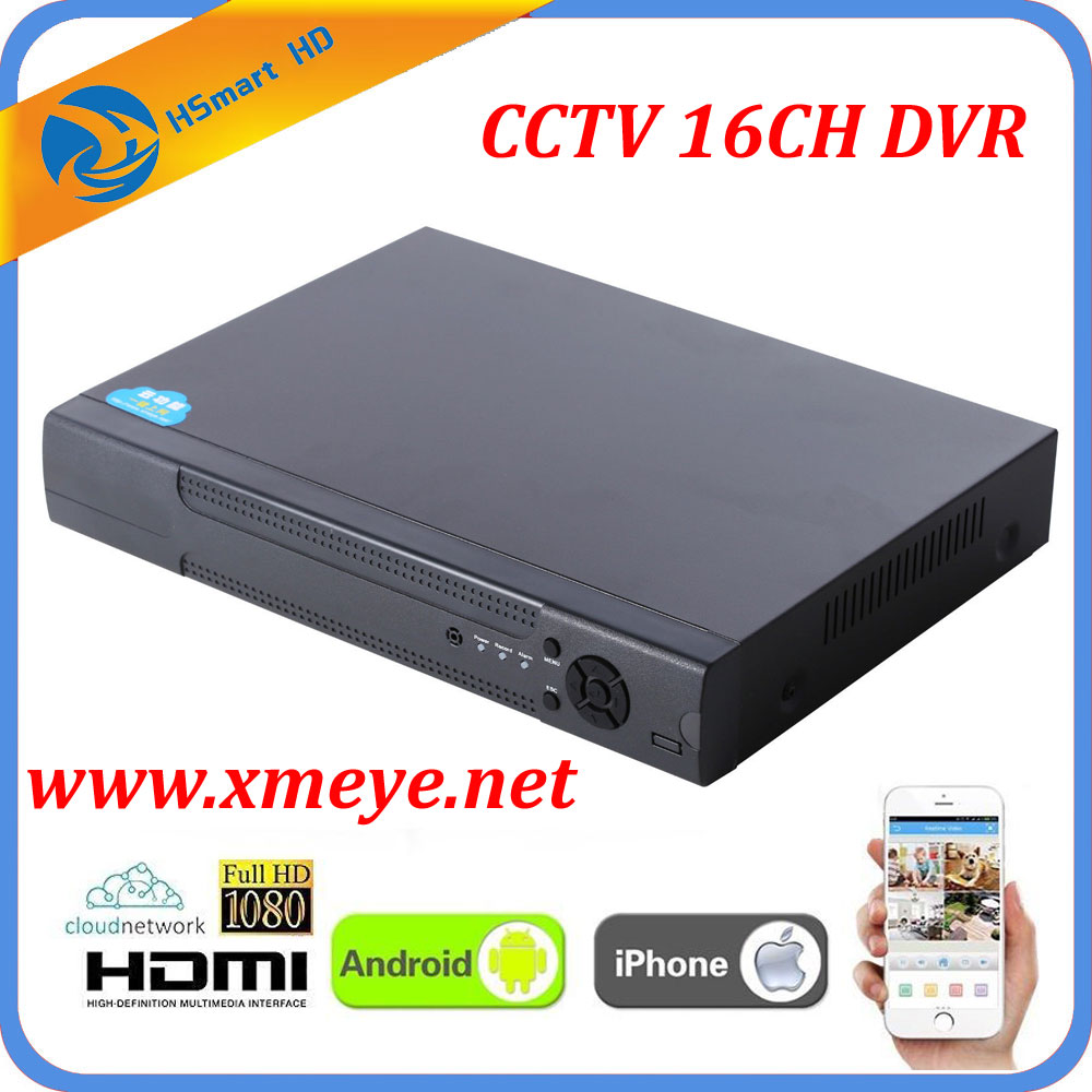 8CH CCTV DVR Recorder With P2P Cloud Easy Remote Access 16 Channel AHD Cameras DVR Real Time Standalone 1080P HDMI VGA OUTPUT 8ch ahd 960h d1 recording cctv standalone hybrid dvr recorder 8ch 700tvl color cmos ir weatherproof indoor dome cameras