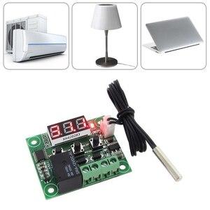 Image 5 - טמפרטורת מתג LCD תצוגת 12V הדיגיטלי בקר טמפ דיוק גבוה עמיד למים חיישן 20A ממסר