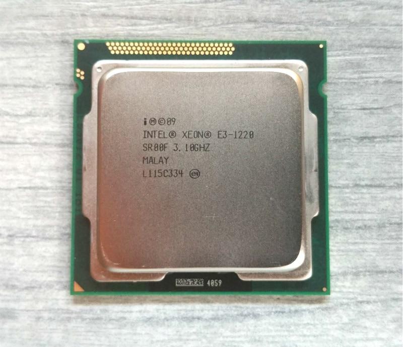 Intel Xeon E3 1220 3.1 пїЅпїЅпїЅ 5 GT/S Quad-Core пїЅпїЅпїЅпїЅпїЅпїЅпїЅпїЅпїЅ пїЅпїЅпїЅпїЅпїЅпїЅпїЅпїЅпїЅ sr00f LGA1155