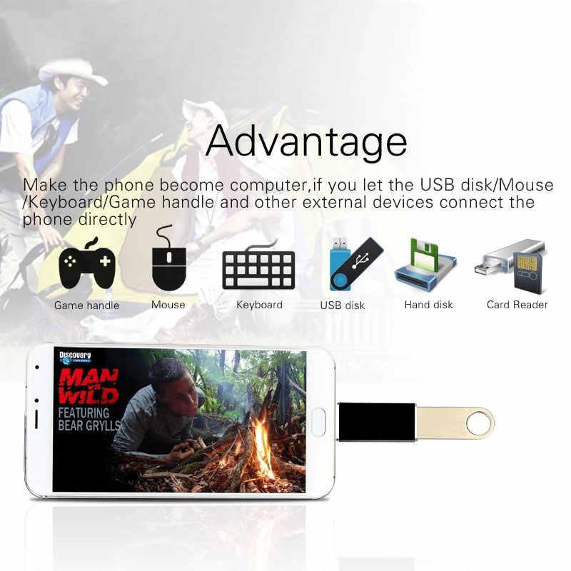 OTG USB C macho a USB3.0 adaptador hembra OTG tipo C A Adaptador USB/convertidor para Macbook Nexus nokia N1 para Samsung S8 Plus