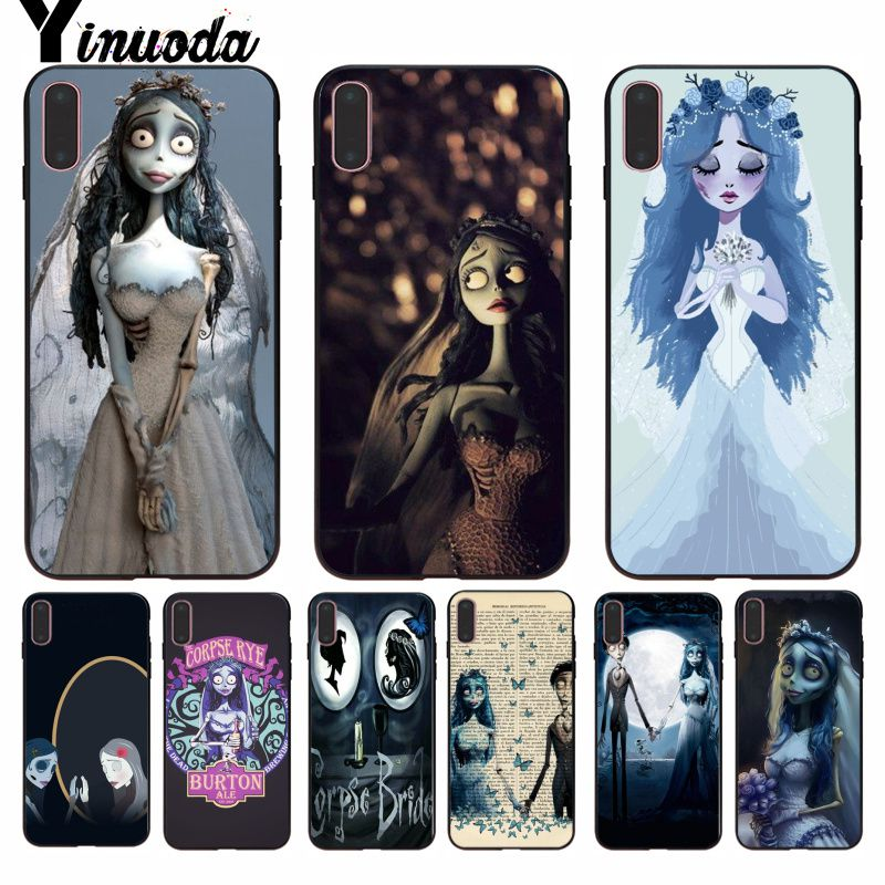 Considerate Yinuoda Tim Burtons Corpse Bride Design Novelty Fundas Phone Case Cover For Iphone 8 7 6 6s Plus 5 5s Se Xr X Xs Max Coque Shell Half-wrapped Case Cellphones & Telecommunications
