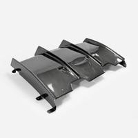 Car Accessories For BMW F82 M4 Carbon Fiber PSM Style Rear Diffuser Glossy Fibre Bumper Bottom Splitter Panel Racing Lip Kit