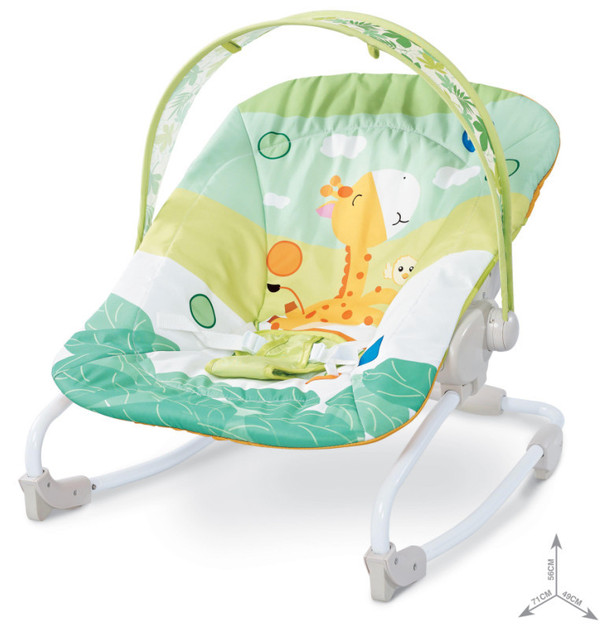 7af961bb2b00 Free shipping Bright Starts Mental Baby Rocking Chair Infant ...