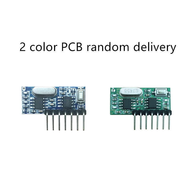 Image 4 - Wireless Wide Voltage Coding Transmitter Decoding Receiver 4 Channel Output Module for 433Mhz Remote Control KT02 4x3+RX480E 4-in Remote Controls from Consumer Electronics